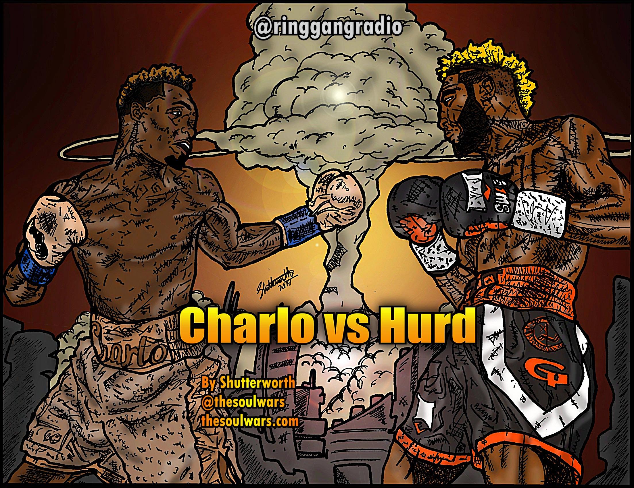 Jermell Charlo vs Jarrett Hurd 20×30 Poster