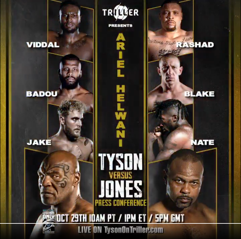 Mike Tyson vs Roy Jones Jr. – Fighting or Sparring? Preview