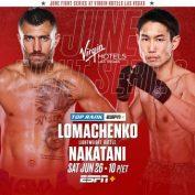 Vasiliy Lomachenko vs Masayoshi Nakatani Preview