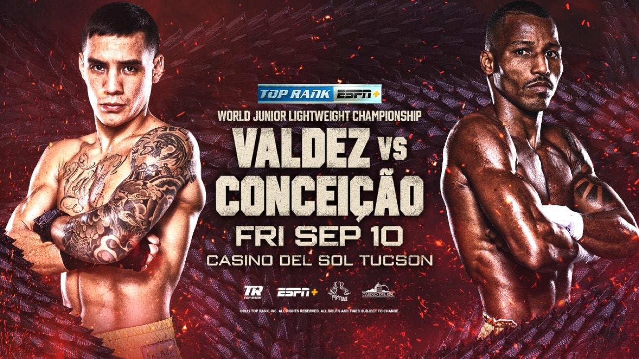 Oscar Valdez vs Robson Conceicao Preview